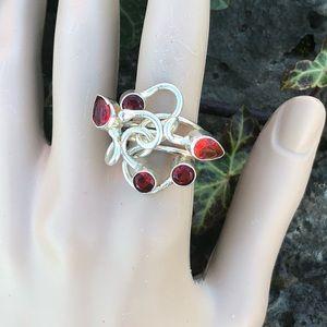 NEW! Garnet Ring